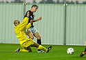 10/08/2004   Copyright Pic: James Stewart.File Name : jspa01_falkirk_v_montrose.DARRYLL DUFFY SCORES FALKIRK'S FIRST....Payments to :.James Stewart Photo Agency 19 Carronlea Drive, Falkirk. FK2 8DN      Vat Reg No. 607 6932 25.Office     : +44 (0)1324 570906     .Mobile  : +44 (0)7721 416997.Fax         :  +44 (0)1324 570906.E-mail  :  jim@jspa.co.uk.If you require further information then contact Jim Stewart on any of the numbers above.........