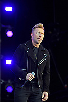 LONDON, ENGLAND - SEPTEMBER 9: Ronan Keating of 'Boyzone' performing at BBC Radio 2 Live in Hyde Park, on September 9, 2018 in London, England.<br /> CAP/MAR<br /> &copy;MAR/Capital Pictures