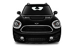 Car photography straight front view of a 2018 Mini Countryman Oakwood 5 Door Hatchback