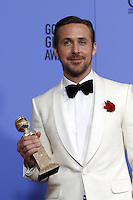 www.acepixs.com<br /> <br /> January 8 2017, LA<br /> <br /> Ryan Gosling appeared in the press room during the 74th Annual Golden Globe Awards at The Beverly Hilton Hotel on January 8, 2017 in Beverly Hills, California.<br /> <br /> By Line: Famous/ACE Pictures<br /> <br /> <br /> ACE Pictures Inc<br /> Tel: 6467670430<br /> Email: info@acepixs.com<br /> www.acepixs.com