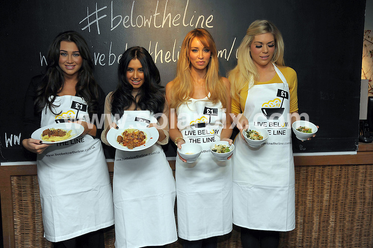 **ALL ROUND PICTURES FROM SOLARPIX.COM**                                             **WORLDWIDE SYNDICATION RIGHTS**                                                                                  Caption: TOWIE charity Cook-off held at the Waterhouse Restaurant in London..This pic: Lauren Goodger, Peri Sinclair, Lauren Pope, Frankie Essex                                                                                            JOB REF:14533        MSR       DATE: 05.03.2012                                                           **MUST CREDIT SOLARPIX.COM OR DOUBLE FEE WILL BE CHARGED**                                                                      **MUST AGREE FEE BEFORE ONLINE USAGE**                               **CALL US ON: +34 952 811 768 or LOW RATE FROM UK 0844 617 7637**