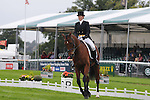 Anna Warnecke riding Twinkle Bee during the dressage phase of the 2012 Land Rover Burghley Horse Trials in Stamford, Lincolnshire