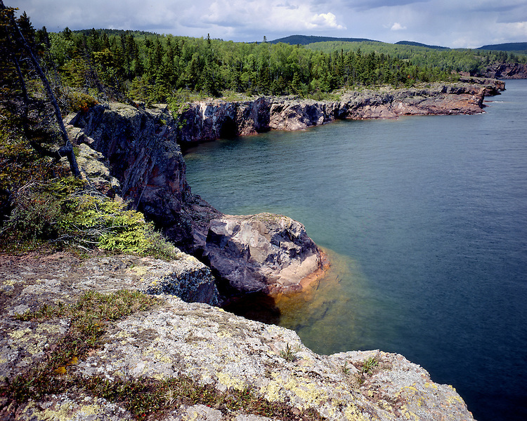 Shovel Point, Tettegouche State Park, Minnesota, June, 1987