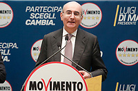 Mauro Vaglio<br /> Roma 29/01/2018. Presentazione dei candidati nelle liste uninominali del Movimento 5 Stelle.<br /> Rome January 29th 2018. Presentation of the candidates for Movement 5 Stars.<br /> Foto Samantha Zucchi Insidefoto