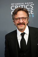 Marc Maron attends the 23rd Annual Critics' Choice Awards at Barker Hangar in Santa Monica, Los Angeles, USA, on 11 January 2018. Photo: Hubert Boesl - NO WIRE SERVICE - Photo: Hubert Boesl/dpa /MediaPunch ***FOR USA ONLY***