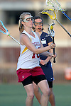 Santa Barbara, CA 02/18/12 - Stephanie Albee (Arizona State #13) in action during the Arizona State vs BYU matchup at the 2012 Santa Barbara Shootout.  BYU defeated Arizona State 10-8.