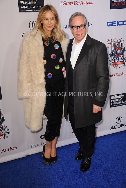 WWW.ACEPIXS.COM<br /> February 28, 2015 New York City<br /> <br /> Dee Ocleppo and Tommy Hilfiger attending Comedy Central Night Of Too Many Stars at Beacon Theatre on February 28, 2015 in New York City.<br /> <br /> Please byline: Kristin Callahan/AcePictures<br /> <br /> ACEPIXS.COM<br /> <br /> Tel: (646) 769 0430<br /> e-mail: info@acepixs.com<br /> web: http://www.acepixs.com