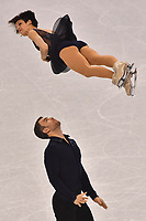 Canada's Meagan Duhamel and Eric Radford give a figure skating pair performance in the Gangneung Ice Arena at the Winter Olympics in Pyeongchang, South Korea, 9 February 2018. Photo: Peter Kneffel/dpa /MediaPunch ***FOR USA ONLY***