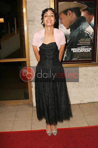 """Shannyn Sossamon<br />at the premiere of """"Brokeback Mountain"""". Mann National Theatre, Westwood, CA. 11-29-05<br />Dave Edwards/DailyCeleb.com 818-249-4998"""