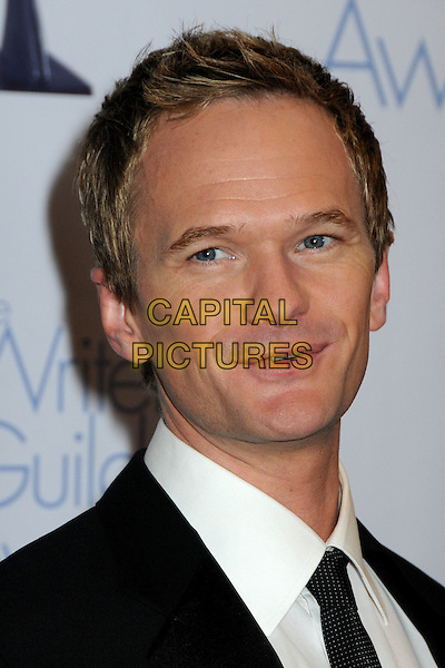 NEIL PATRICK HARRIS .WGA 2009 Writers Guild Awards at the Hyatt Regency Century Plaza Hotel, Century City, CA, USA, .07 February 2009. .portrait headshot black tie .CAP/ADM/BP.©Byron Purvis/Admedia/Capital PIctures