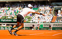 JO-WILFRIED TSONGA (FRA)<br /> <br /> Tennis - French Open 2015 -  Roland Garros - Paris -  ATP-WTA - ITF - 2015  - France <br /> <br /> &copy; AMN IMAGES