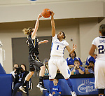 UK guard A'dia Mathies blocks a pass during the first half of the UK Women's basketball game against Southern Miss on 11/19/11 in Lexington, KY. Photo by Quianna Lige | Staff