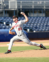 Barret Browning / Scottsdale Scorpions 2008 Arizona Fall League..Photo by:  Bill Mitchell/Four Seam Images