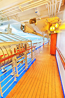 Emerald Princess Cruise Ship Deck