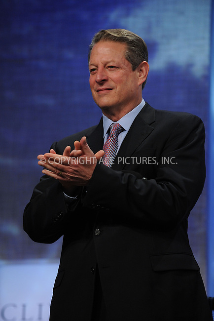 WWW.ACEPIXS.COM . . . . . ....September 23 2009, New York City....Politician Al Gore at the Clinton Global Initiative on September 23 2009 in New York City....Please byline: KRISTIN CALLAHAN - ACEPIXS.COM.. . . . . . ..Ace Pictures, Inc:  ..tel: (212) 243 8787 or (646) 769 0430..e-mail: info@acepixs.com..web: http://www.acepixs.com