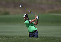 Edouardo Molinari (ITA) plays out of the fairway bunker on the 4th during Round Two of The Tshwane Open 2014 at the Els (Copperleaf) Golf Club, City of Tshwane, Pretoria, South Africa. Picture:  David Lloyd / www.golffile.ie