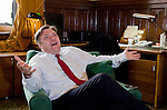 ED BALLS MP, THE SHADOW CHANCELLOR, IN HIS OFFICE IN WESTMINSTER..24-5-2012 PIC BY IAN MCILGORM