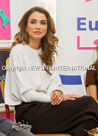 17.05.2017; Amman, Jordan: QUEEN RANIA<br /> visits the Eureka Tech Academy, Amman<br /> Mandatory Photo Credit: &copy;NEWSPIX INTERNATIONAL<br /> <br /> IMMEDIATE CONFIRMATION OF USAGE REQUIRED:<br /> Newspix International, 31 Chinnery Hill, Bishop's Stortford, ENGLAND CM23 3PS<br /> Tel:+441279 324672  ; Fax: +441279656877<br /> Mobile:  0777568 1153<br /> e-mail: info@newspixinternational.co.uk<br /> &ldquo;All Fees Payable To Newspix International&rdquo;