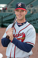 Richmond Braves David Kelton during an International League game at Frontier Field on April 17, 2006 in Rochester, New York.  (Mike Janes/Four Seam Images)