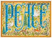 Ingrid, CHRISTMAS SYMBOLS, WEIHNACHTEN SYMBOLE, NAVIDAD SÍMBOLOS,peace, paintings+++++,USISMC43CP,#xx#