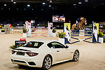 Xingjia Zhang of China riding For Passion D Ive Z competes in the Maserati Masters Power during the Longines Masters of Hong Kong at AsiaWorld-Expo on 10 February 2018, in Hong Kong, Hong Kong. Photo by Diego Gonzalez / Power Sport Images