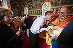 Christmas Day within St. Sava Serbian Orthodox Church, jackson, Calif.