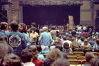The Audience before the show. Grateful Dead Concert at William and Mary College Hall 15 April 1978