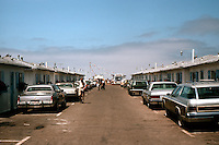 San Diego: Crystal Pier Motel--Cottages--Pacific Beach.  (Photo 1982)
