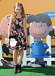 Hadley Miller arriving at The Peanuts Movie premiere held at the Regency Village Theaters Los Angeles, CA. November 1, 2015