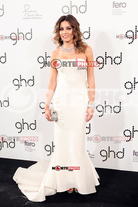 Virginia Troconis attends Ghd Pink Proyect charity dinner at the Casino de Madrid. November 28, 2012. (ALTERPHOTOS/Caro Marin) /NortePhoto
