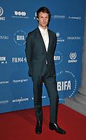 Hugh Skinner at the British Independent Film Awards (BIFA) 2018, Old Billingsgate Market, Lower Thames Street, London, England, UK, on Sunday 02 December 2018.<br /> CAP/CAN<br /> &copy;CAN/Capital Pictures
