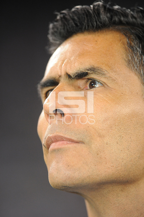 EAST RUTHERFORD, NJ - SEPTEMBER 6: Oswaldo Sanchez former national team player during a game between Mexico and USMNT at MetLife Stadium on September 6, 2019 in East Rutherford, New Jersey.
