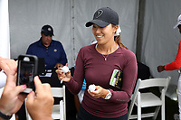 Annie Park (USA) signs autographs after finishing the ShopRite LPGA Classic presented by Acer, Seaview Bay Club, Galloway, New Jersey, USA. 6/10/18.<br /> Picture: Golffile   Brian Spurlock<br /> <br /> <br /> All photo usage must carry mandatory copyright credit (&copy; Golffile   Brian Spurlock)