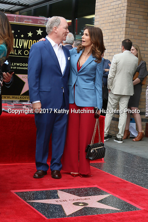 LOS ANGELES - MAY 15:  Ken Corday, Kristian Alfonso at the Ken Corday Star Ceremony on the Hollywood Walk of Fame on May 15, 2017 in Los Angeles, CA