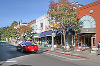 People stores on Bridgeway, Sausalito California