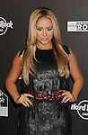 HOLLYWOOD, CA. - October 21: Aubrey O'Day arrives at the Hard Rock Cafe - Hollywood - Grand Opening on October 21, 2010 in Hollywood, California.