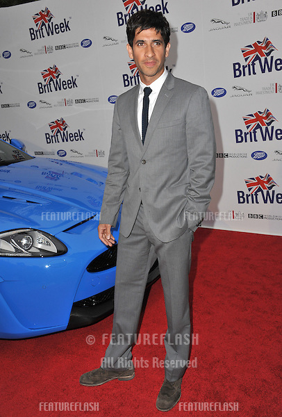Raza Jaffrey at the official launch of BritWeek 2012 in Hancock Park, Los Angeles..April 24, 2012  Los Angeles, CA.Picture: Paul Smith / Featureflash