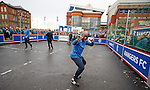 Marvin Andrews at the Rangers fanzone