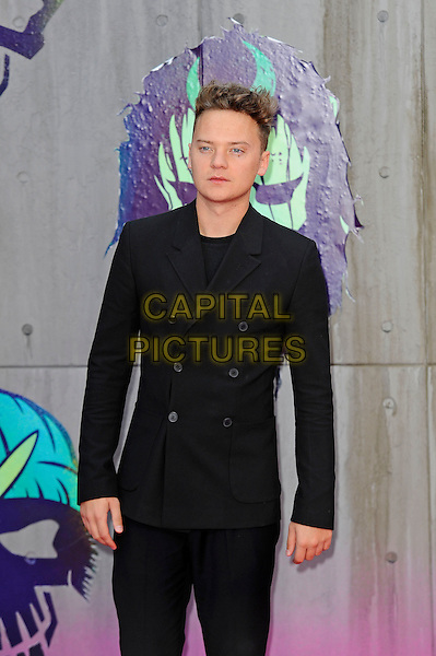 LONDON, ENGLAND - AUGUST 3: Conor Maynard attending the 'Suicide Squad' European Premiere at Odeon Cinema, Leicester Square on August 3, 2016 in London, England.<br /> CAP/MAR<br /> &copy;MAR/Capital Pictures