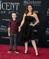 "LOS ANGELES, USA. September 30, 2019: Annie Wersching at the world premiere of ""Maleficent: Mistress of Evil"" at the El Capitan Theatre.<br /> Picture: Jessica Sherman/Featureflash"