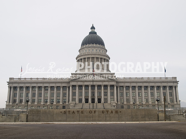 The Utah State Capitol Building was the work of the architect Richard K.A. Kletting and it is located in Salt Lake City, Utah.
