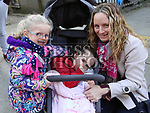 Aoife, Ciara and Fiona Fahy at Music at the Gate, Laurence's Gate<br /> <br /> <br /> photo - Jenny Matthews