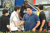 MADRID, ESPANHA, 10 DE MAIO 2012 - MUTUA MADRID OPEN - O ex jogador Ronaldo Nazario e o jogador do Real Madrid Kaka sao vistos acompanhando o Mutua Madrid Open, em Madrid capital da Espanha, nesta quinta-feira, 10. (FOTO: CESAR CEBOLLA / ALFAQUI / BRAZIL PHOTO PRESS).