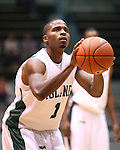The Tulane Green Wave battled the George Mason Patriots in a basketball game at Fogleman Arena. The Green Wave went on to defeat the Patriots 76-71.