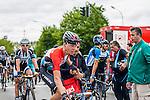 Bob Jungels (LUX,TFR) after finishing at Liège-Bastogne-Liège, Ans, Belgium, 27 April 2014, Photo by Pim Nijland / www.pelotonphotos.com