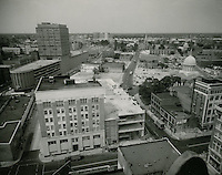 1961 July 11..Redevelopment.Downtown North (R-8)..Downtown Progress..North View from VNB Building..HAYCOX PHOTORAMIC INC..NEG# C-61-5-76.NRHA#..