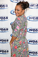 BALA CYWYD, PA - OCTOBER 12 :  Chante Moore visits WDAS performance studio in Bala Cynwyd, Pa on October 12, 2017   ***HOUSE COVERAGE photo credit  Star Shooter / MediaPunch