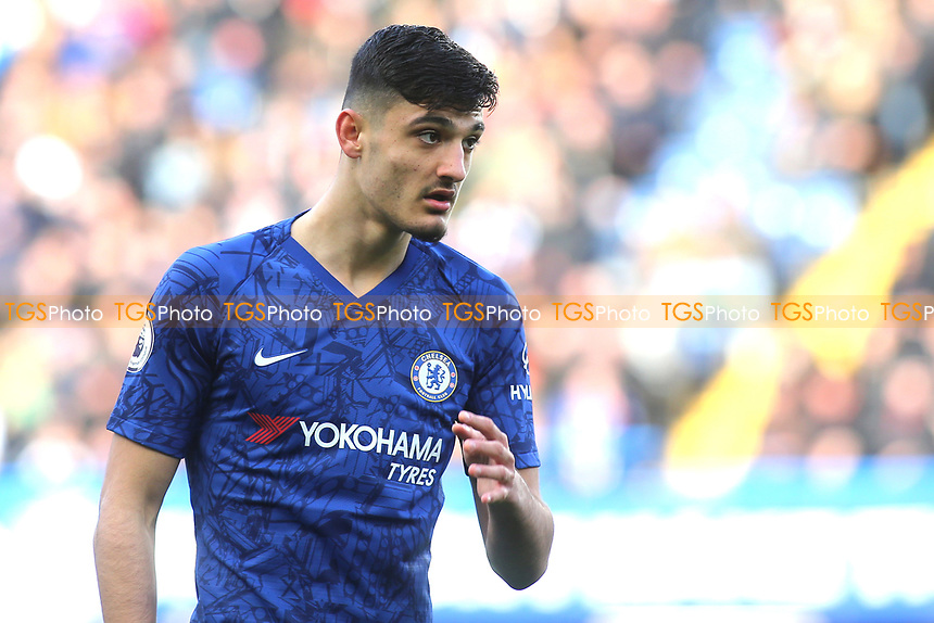 Armando Broja of Chelsea during Chelsea vs Everton, Premier League Football at Stamford Bridge on 8th March 2020