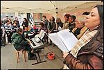 Libere in Barriera, giornata per la libertà delle donne, 25 novembre 2012 nel cortile della Scuola Elementare Grazia Deledda.