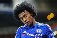 Willian of Chelsea during the UEFA Champions League group match between Chelsea and FC Porto at Stamford Bridge, London, England on 9 December 2015. Photo by David Horn / PRiME
